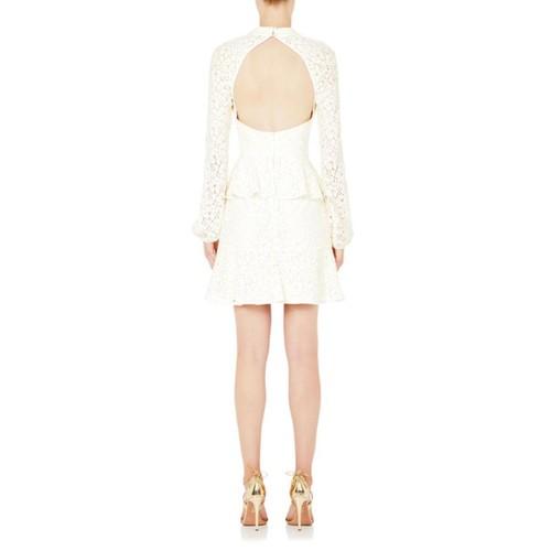Sistine Frill Mini Dress