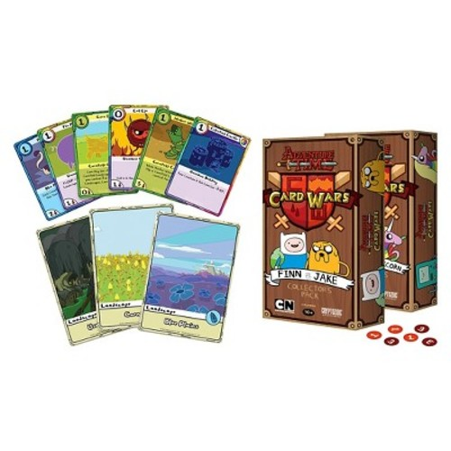 Adventure Time Finn vs Jake Card Wars Collector's Game
