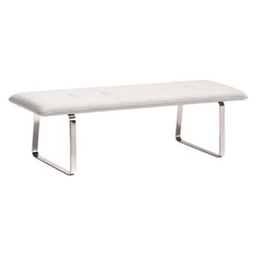 Zuo Modern Cartierville Bench White (WC500178)