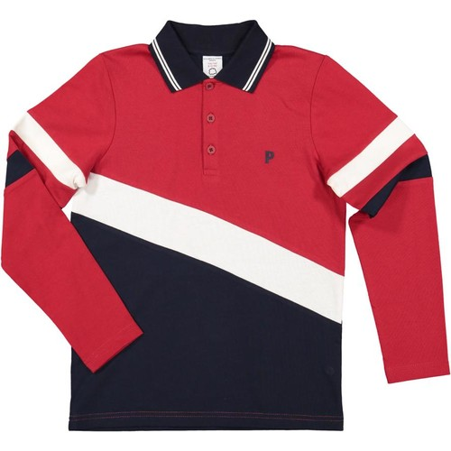 COLOR BLOCK RUGBY SHIRT (6-12YRS)