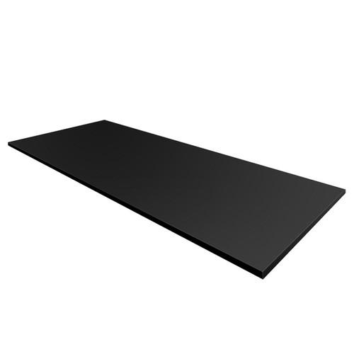 Modifi 0.75 in. H x 73 in. W x 25.5 in. D Counter-Top in Black