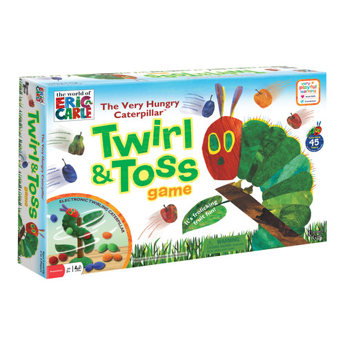 University Games The Very Hungry Caterpillar Twirl & Toss Game