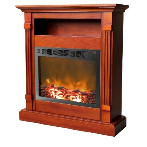 Cambridge - Sienna Electric Fireplace - Cherry