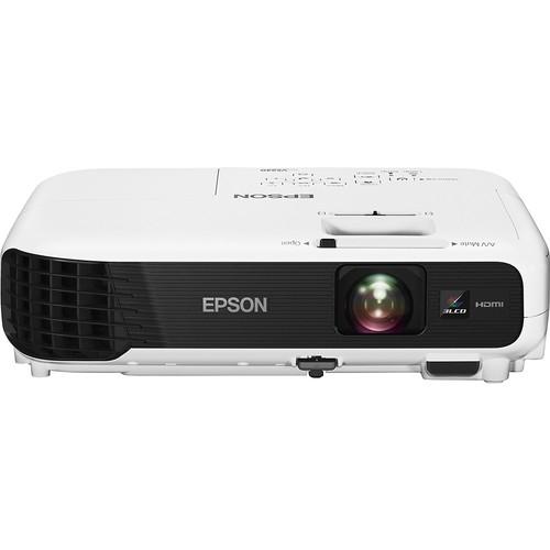 Epson - VS240 SVGA 3LCD Projector - White/Black