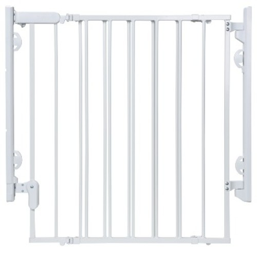 Safety 1st Ready to Install Top of Stairs Gate - White