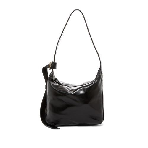 Chaine Leather Hobo Bag