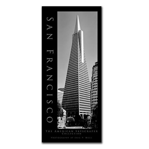 San Francisco II by Preston, 10x24-Inch Canvas Wall Art [10 by 24-Inch]