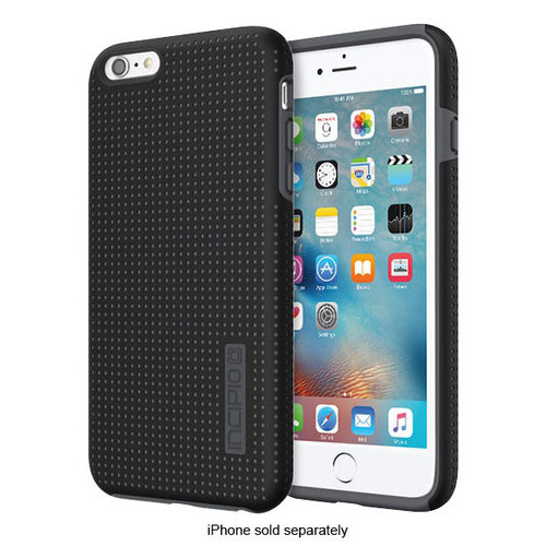 Incipio - DualPro Highwire Hard Shell Case for Apple iPhone 6 Plus and 6s Plus - Black
