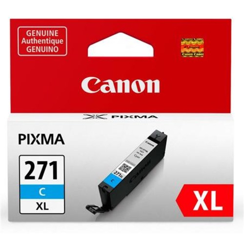 Canon CLI-271 XL Cyan Ink Tank - 10.8ml 0337C001