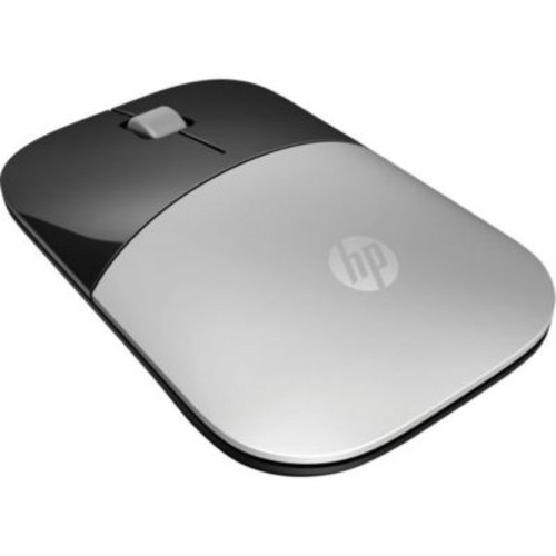 HP Z3700 USB Wireless Blue LED Mouse, Silver