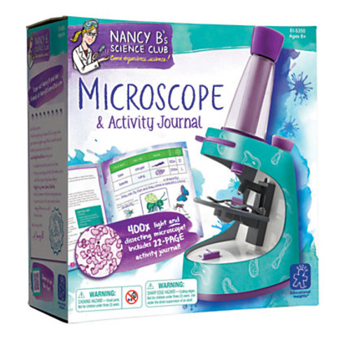 Learning Resources Nancy Bs Science Club Microscope And Activity Journal Set, 9
