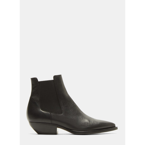Theo 45 Chelsea Ankle Boots in Black