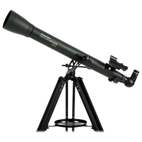 Celestron - ExploraScope 60 AZ 60mm Refractor Telescope - Green