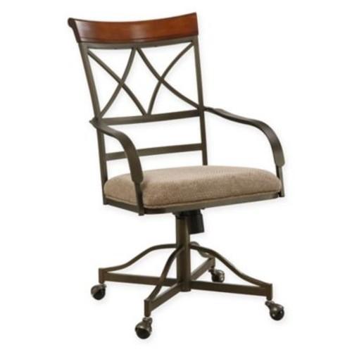 Hamilton Swivel-Tilt Arm Chairs (Set of 2)