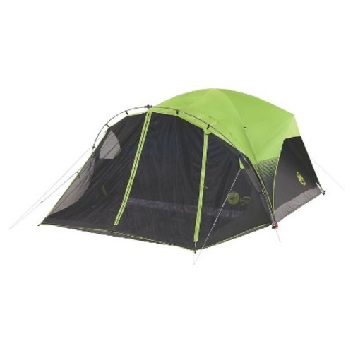Coleman Carlsbad Fast Pitch 6-Person Dome Tent with Screen Room - Green