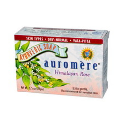 Auromere Ayurvedic Bar Soap 2.75 OZ, Himalayan Rose