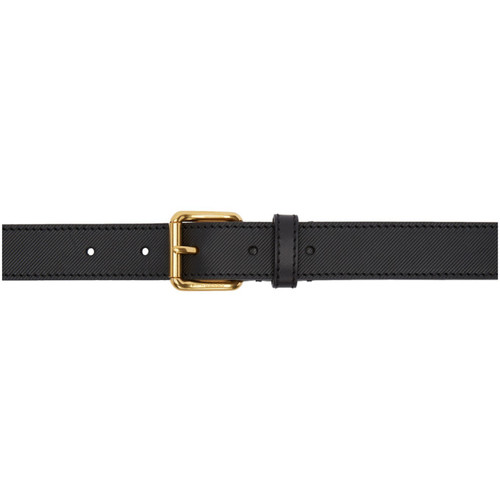 BURBERRY Black Thomas Bridle Trench Belt