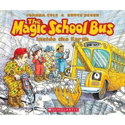 Magic School Bus Inside the Earth (CD/Spoken Word) (Joanna Cole)