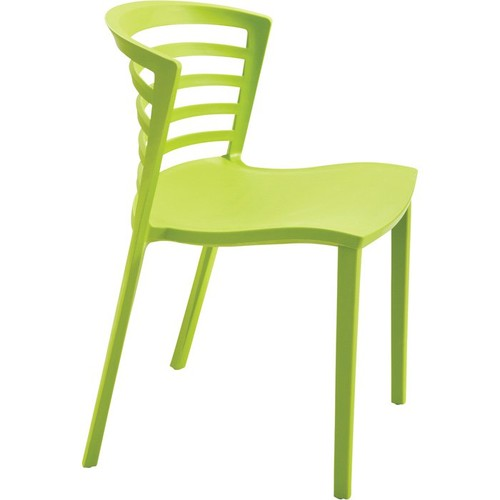 Mayline Safco Entourage Stack Chairs  Set of 4, Grass,