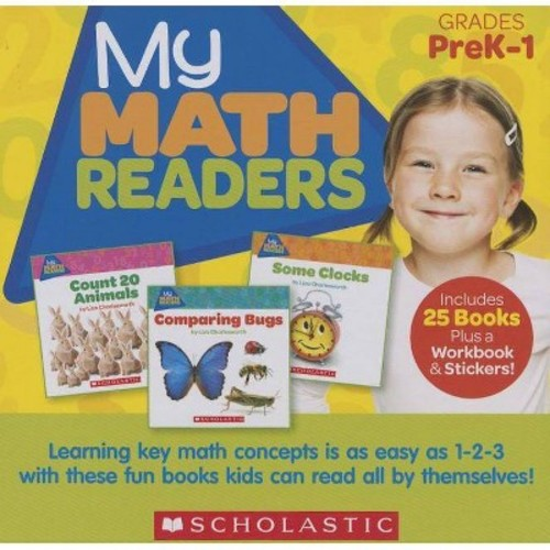 My Math Readers Parent Pack: Learning Key Math Concepts is as Easy as 1-2-3 with These Fun Books Kids Can Read All By Themselves