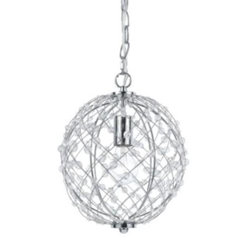 AF Lighting Spherical Silver Web Pendant