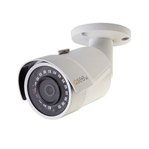 Q-See QCN8068BA Bullet IP Network Camera - 4MP, 2560x1440 Resolution, Outdoor, Weatherproof, Day and Night - QCN8068BA