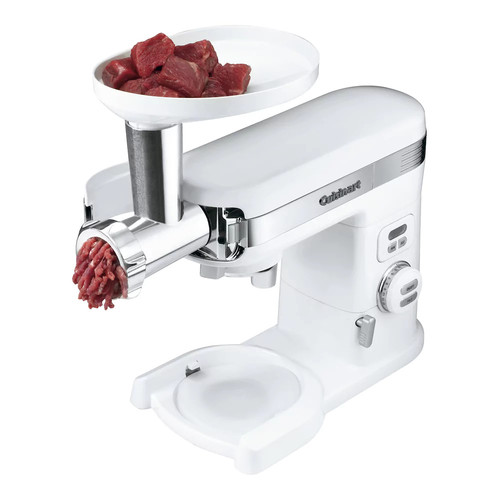 Cuisinart - Meat Grinder Attachment for Cuisinart Stand Mixers - White