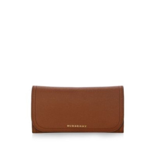 BURBERRY Soft Grain Leather Continental Wallet