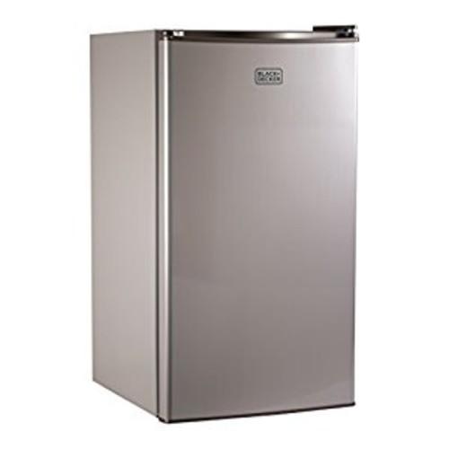 BLACK+DECKER BCRK32V Compact Refrigerator Energy Star Single Door Mini Fridge with Freezer, 3.2 Cubic Ft., VCM