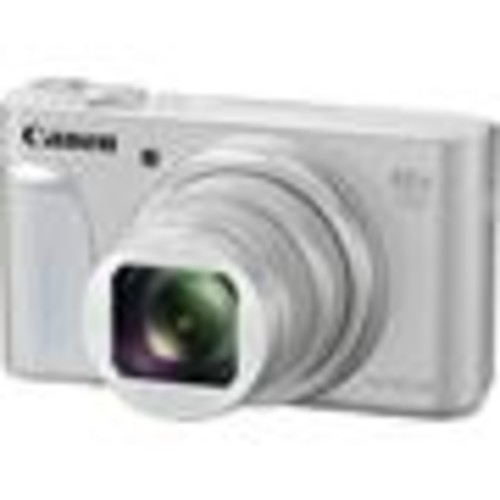 Canon PowerShot SX730 HS (Silver) 20.3-megapixel digital camera with 40X optical zoom, Wi-Fi, and Bluetooth