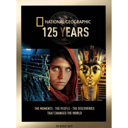 National Geographic: 125 Years Collection [10 Discs] [DVD]