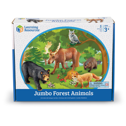Learning Resources Jumbo Animals - Forest Animals