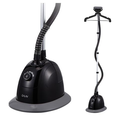 SALAV GS34-BJ Black Performance Series 1500 watt, 4 Steam Settings, 360 Swivel Multi-Hook Hanger, Garment Steamer,
