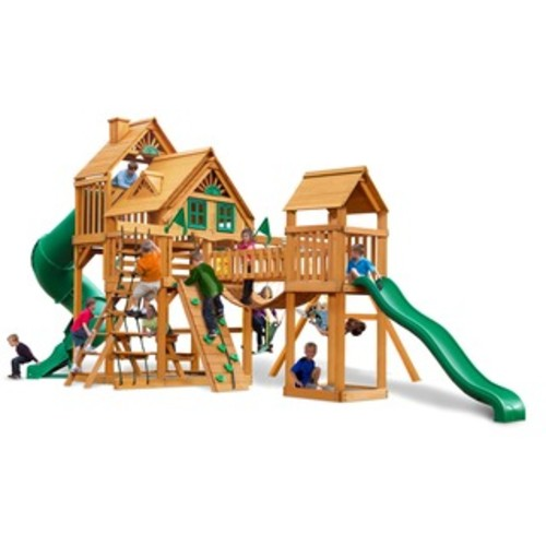 Backyard Discovery Vista All Cedar Swing Set - Assembly Included