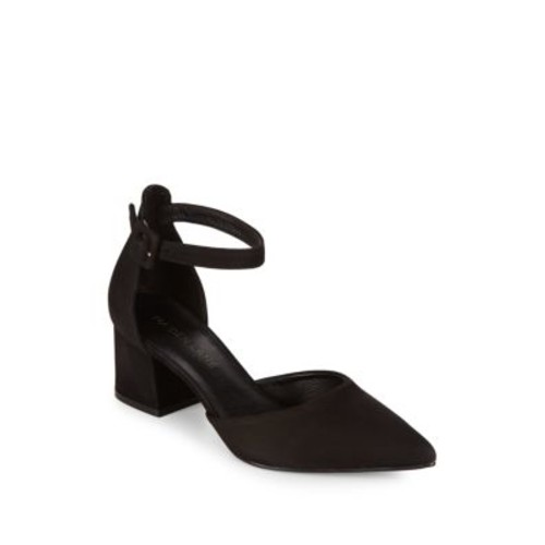 Maiden Lane - Maiden Leather Slingback Pumps