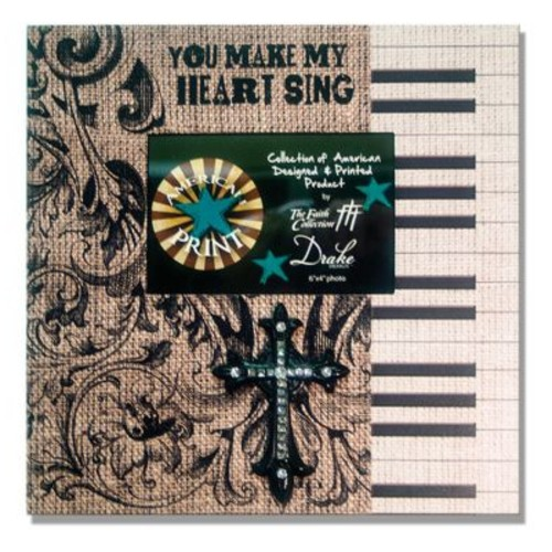 Carpentree Faith You Make My Heart Sing Picture Frame