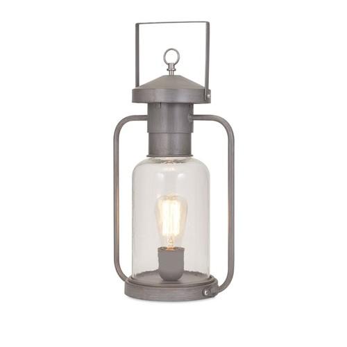 port Glass Lantern Table Lamp