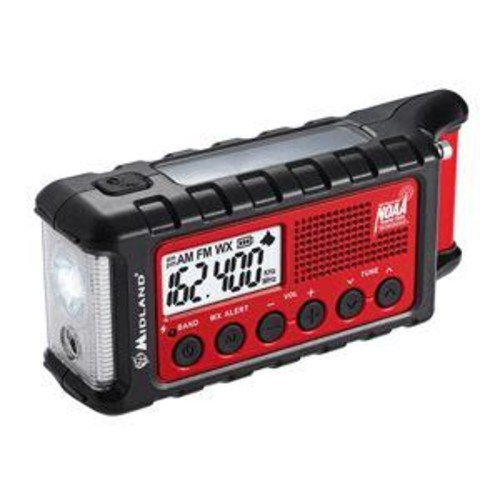 E+Ready ER310 Emergency Crank Weather Alert Radio