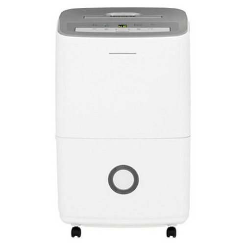 Frigidaire - 50 Pint Dehumidifier with Humidity Control - White/Gray