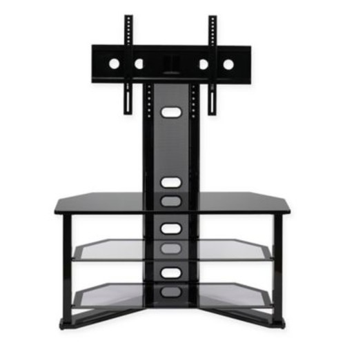 Z-Line Designs Madrid TV Stand with Integrated Mount in Black