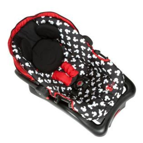 Safety 1st Disney Baby Light 'N Comfy Luxe Infant Car Seat - Mickey Silhouette