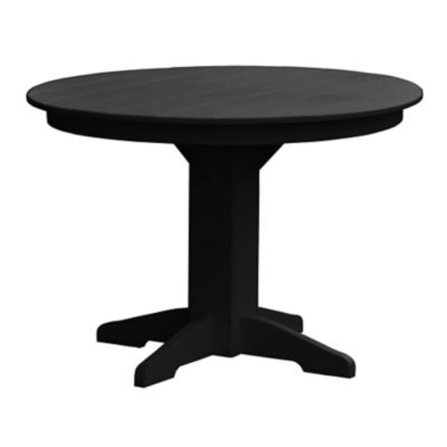 Radionic Hi Tech Newport Dining Table; Black