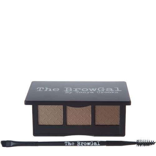 The BrowGal Convertible Brow Powder \u0026 Pomade Duo w/ Brush