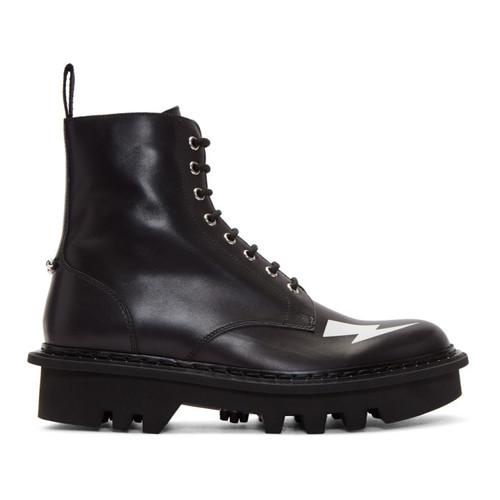 Black Thunderbolt Military Boots