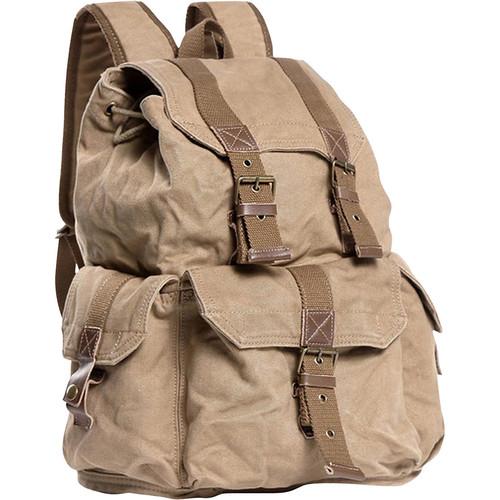 Vagabond Traveler Washed Canvas Backpack
