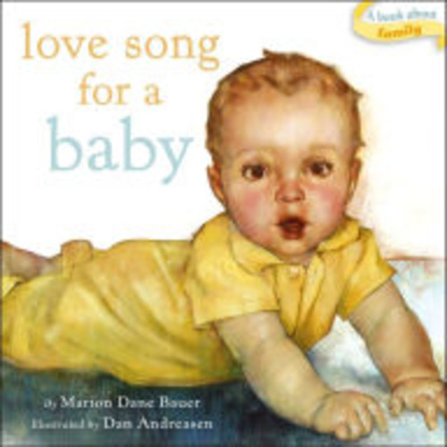 Love Song for a Baby: with audio recording