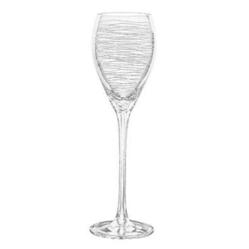 Qualia Glass Graffiti 12 Oz. White Wine Glass (Set of 4)