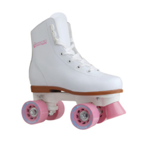 Chicago Skates Girls Sidewalk Skate with Padded Ankle Collar and Laces [option : Size J12]