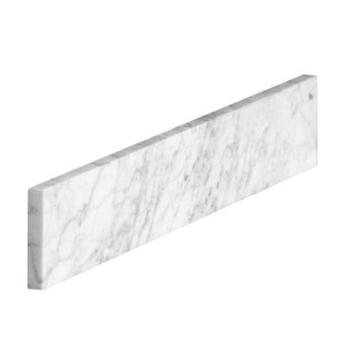 Home Decorators Collection 21 in. Marble Sidesplash in Carrara