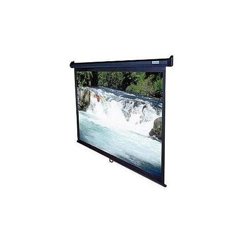 Elite Screens Manual Series M100UWV1 - Projection screen - 100 in ( 254 cm ) - 4:3 - MaxWhite - black